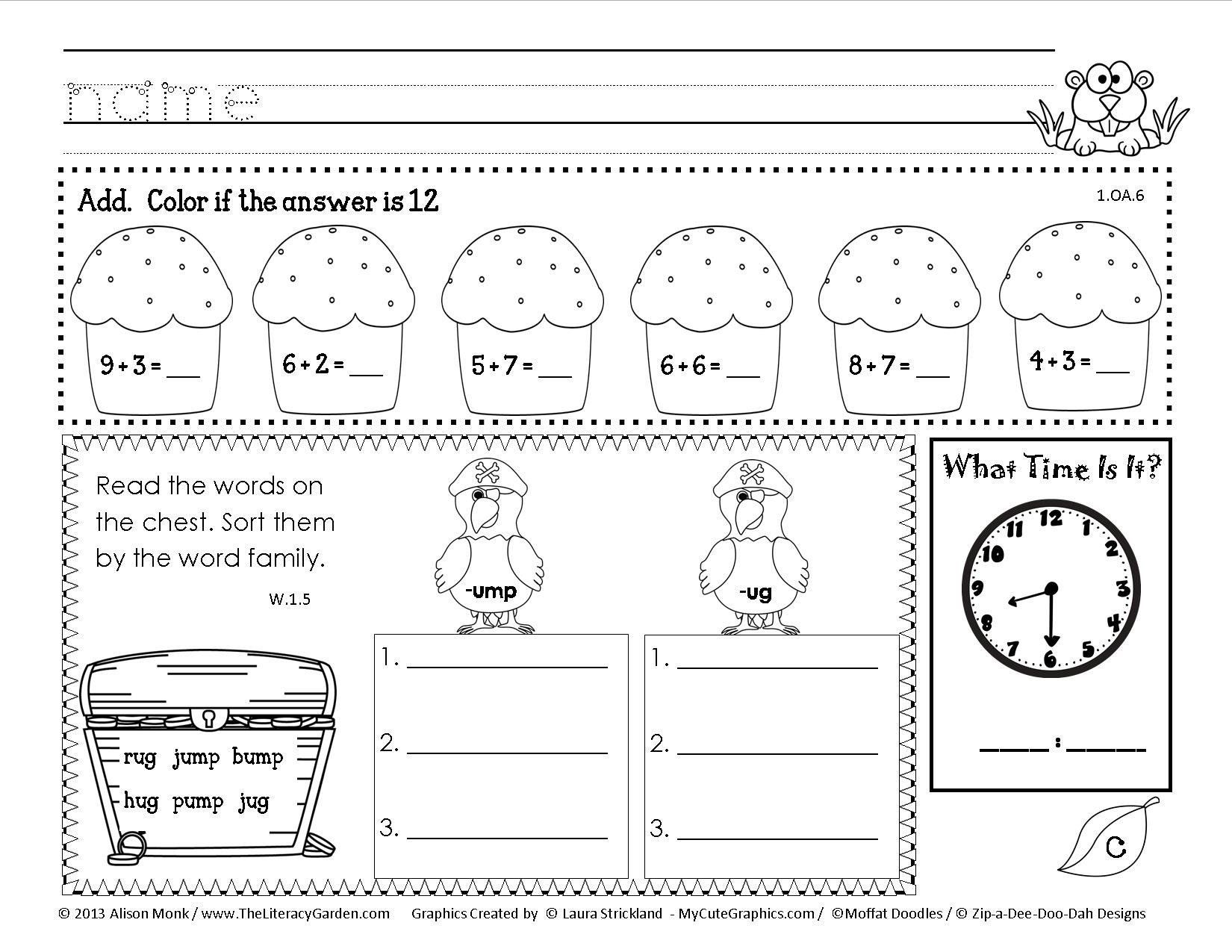 Array Worksheets for 2nd Graders Pin On Grade Main Idea Worksheets