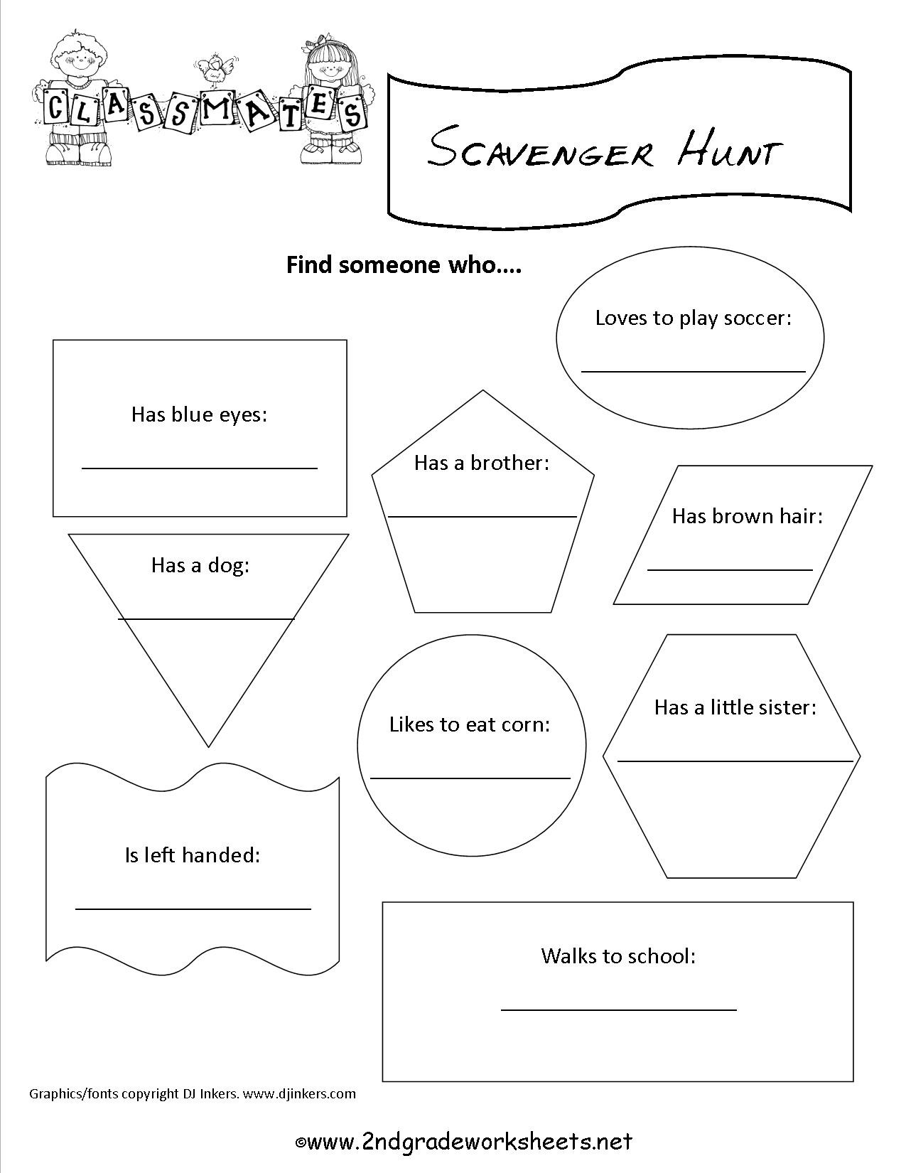 Back to School Worksheets Back to School Worksheets 2nd Grade to Download Back to