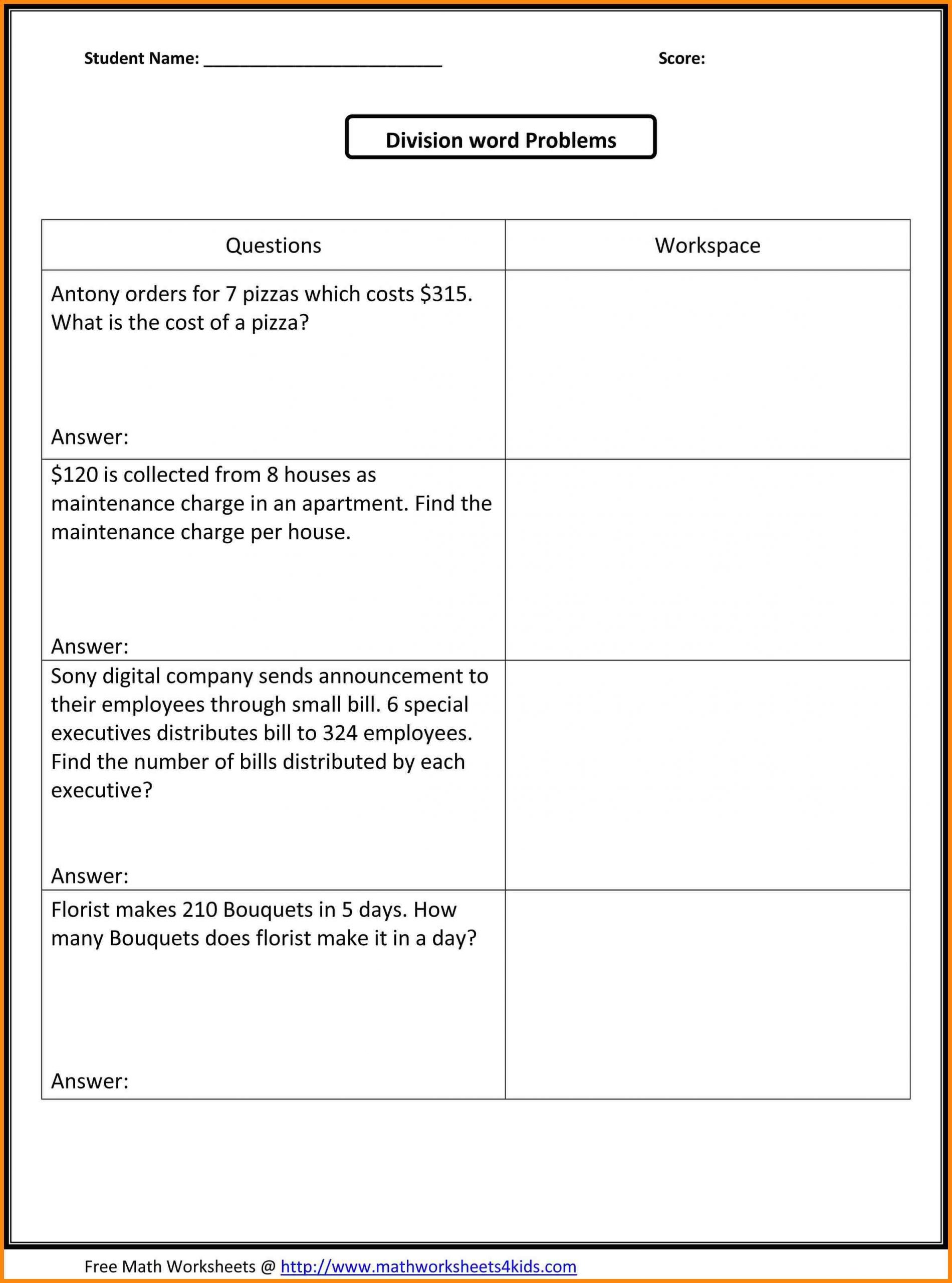 Biomes Worksheet 5th Grade 10 5th Grade Math Word Problems Bunch Ideas 6th Grade