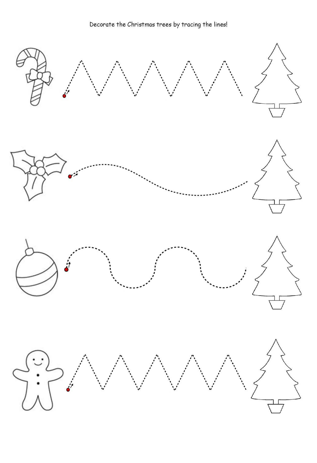 Christmas Worksheets for Preschoolers My Family Members Worksheets for Preschoolers