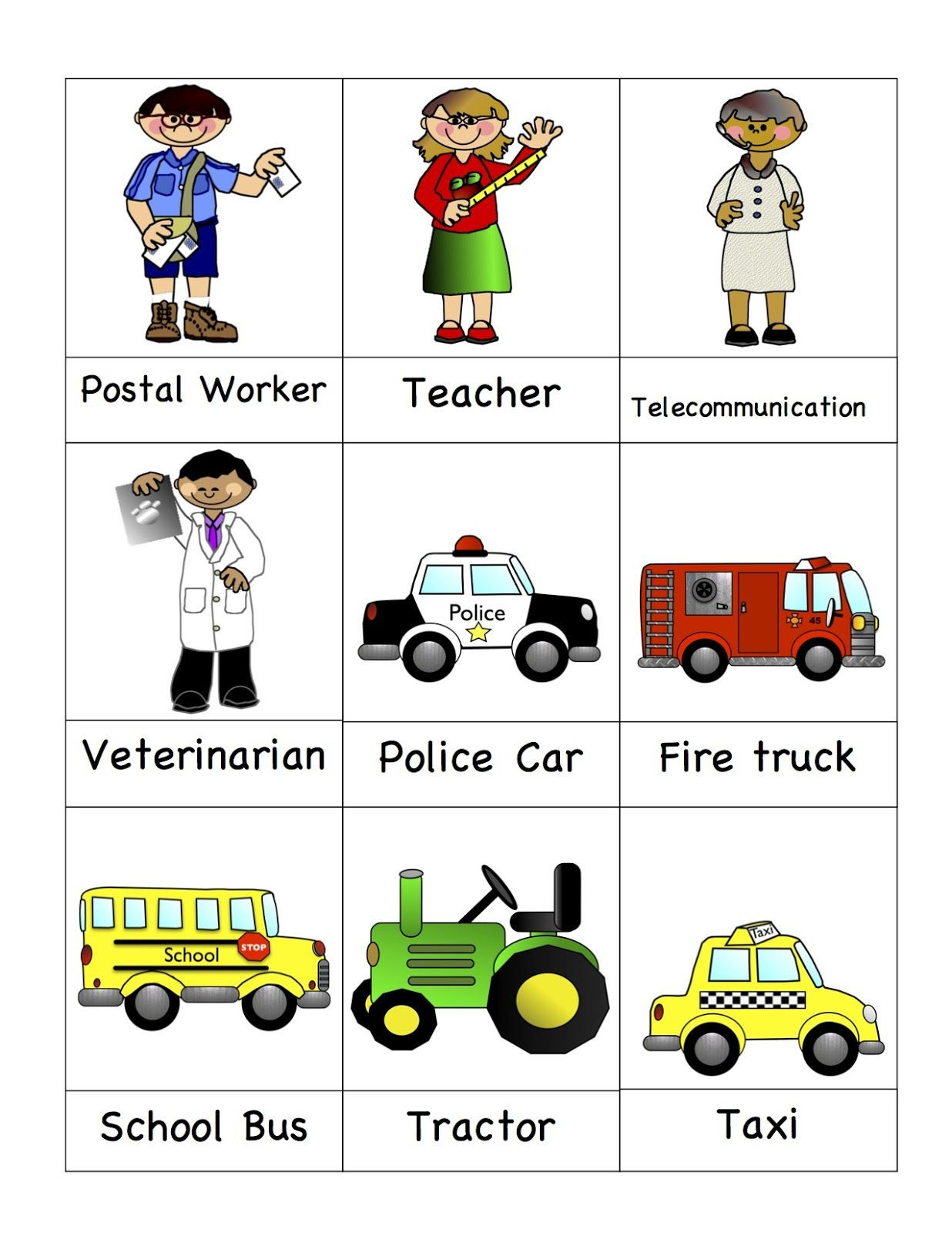 Community Helpers Worksheet for Preschool Preschool Printables Munity Helpers