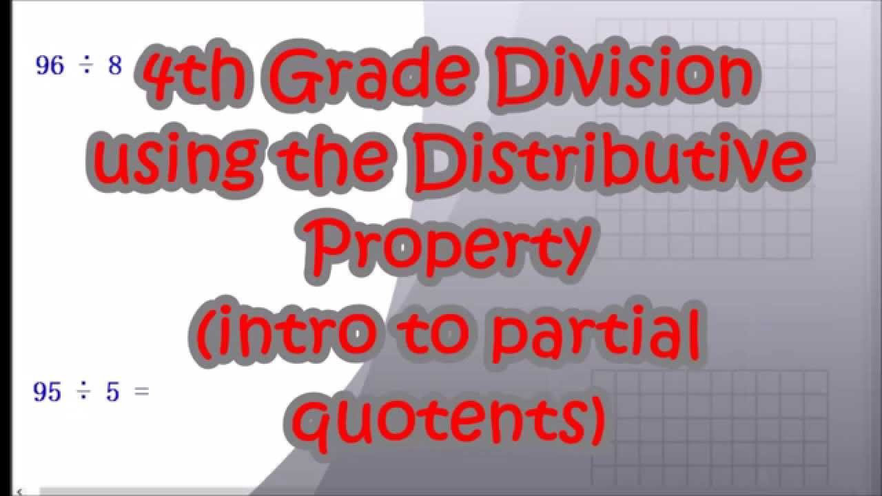 Distributive Property 4th Grade Worksheets Division Distributive Property 4th Grade Mon Core