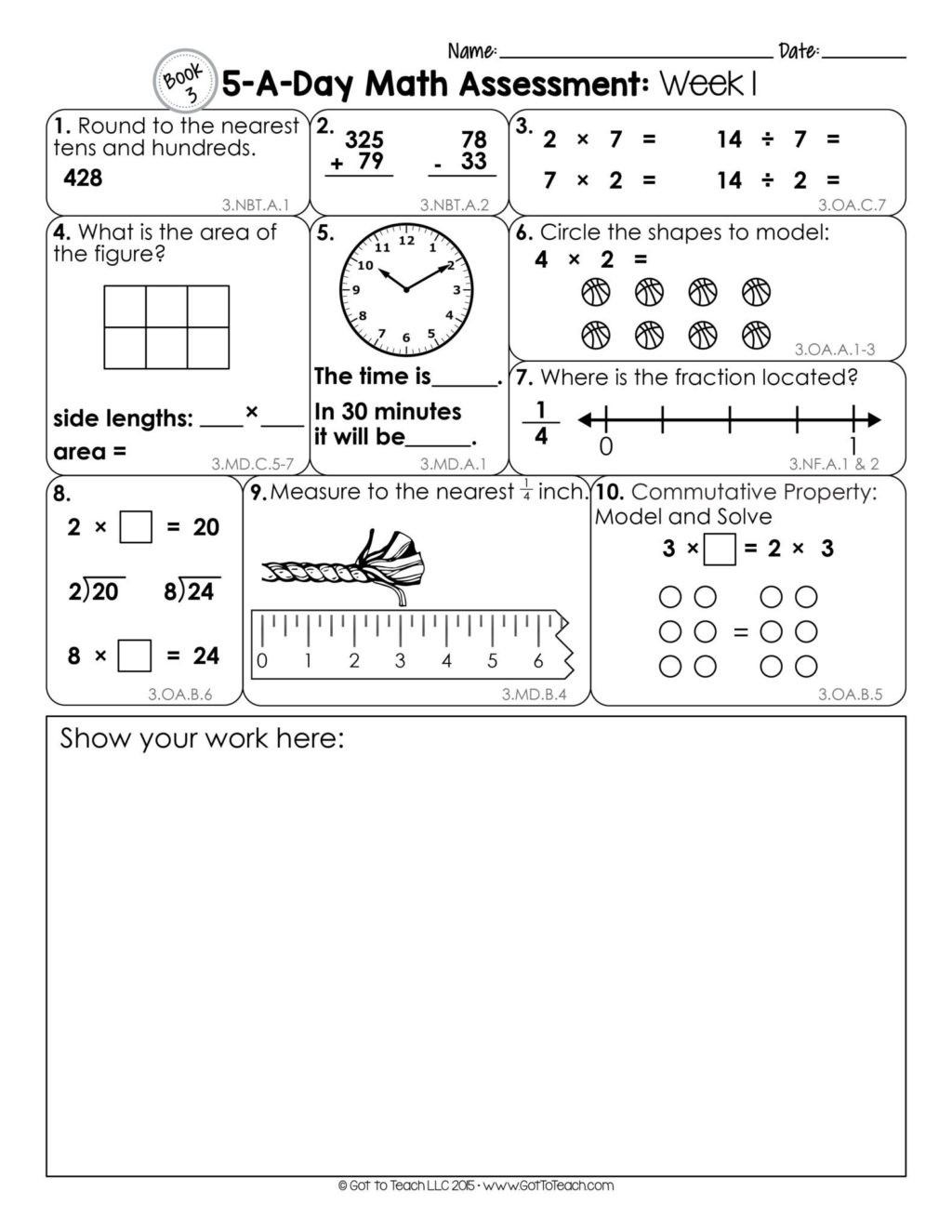 Distributive Property 4th Grade Worksheets Worksheet Printable Third Grade Worksheets Work Packets