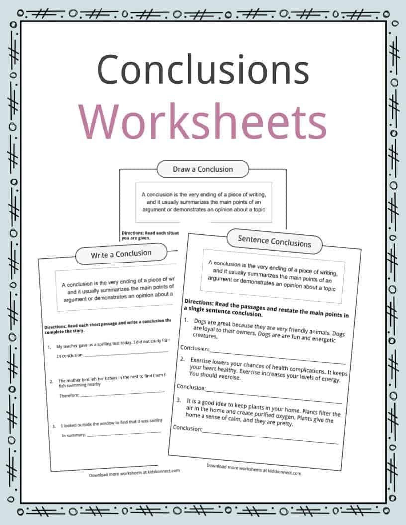 Drawing Conclusions Worksheets 5th Grade Pin On Examples Grade Stu S Worksheets