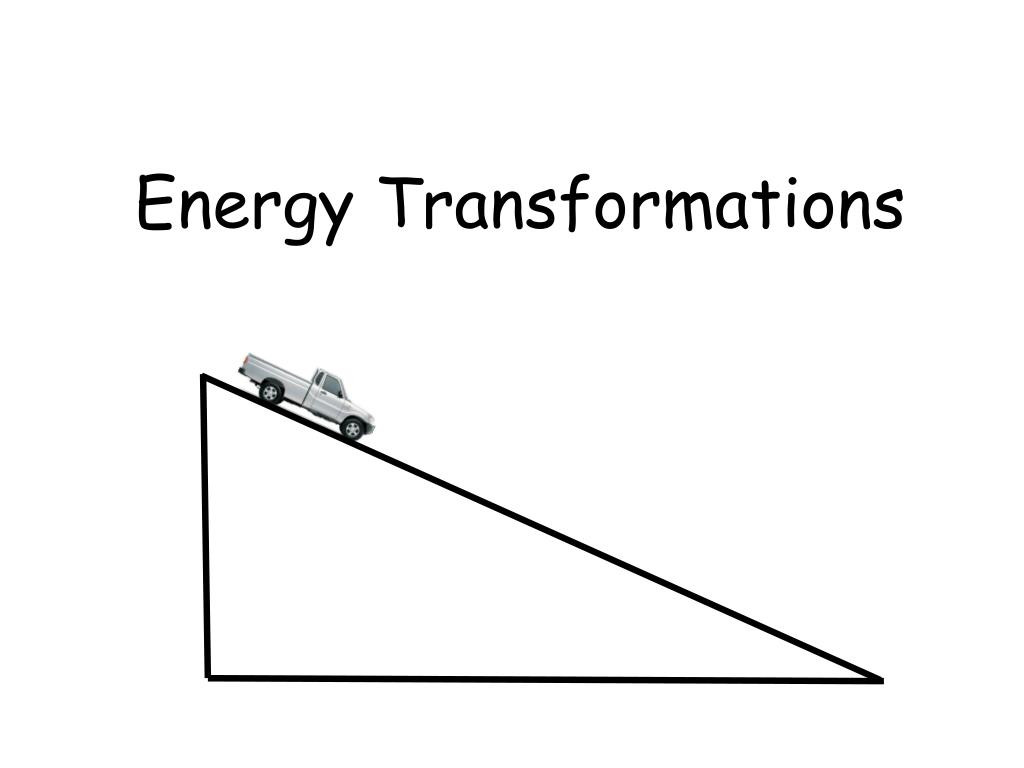 Energy Transformation Worksheet Middle School Ppt Energy Transformations Powerpoint Presentation Free