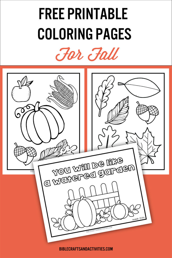 Fall Worksheets for Preschool Coloring 26 Fall Printables for Preschool Ideas Free