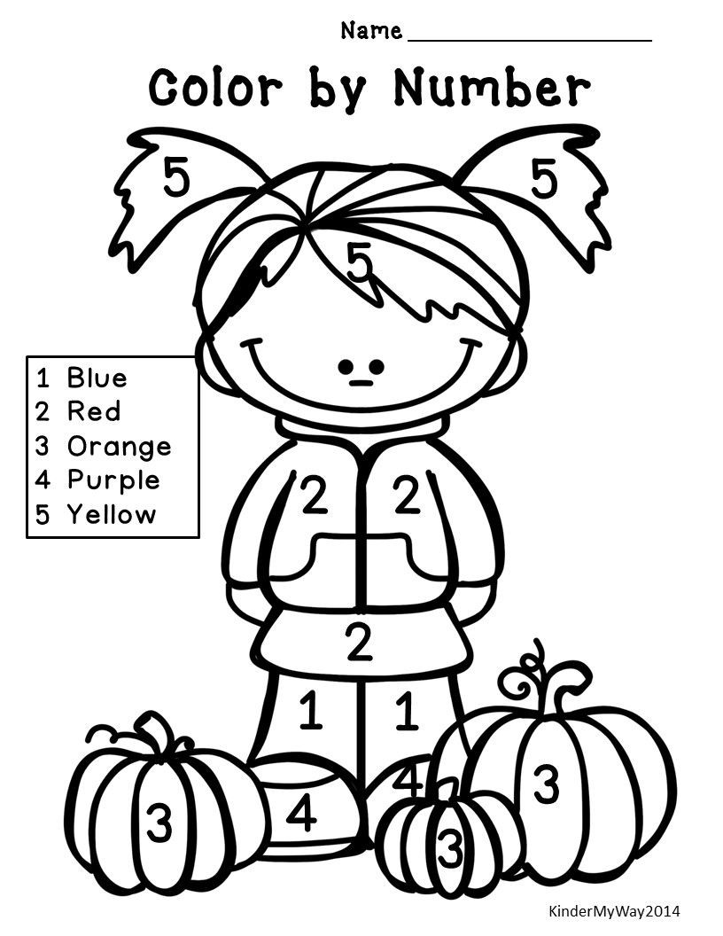 Fall Worksheets for Preschool Fall Math Activities Fall Math Worksheets