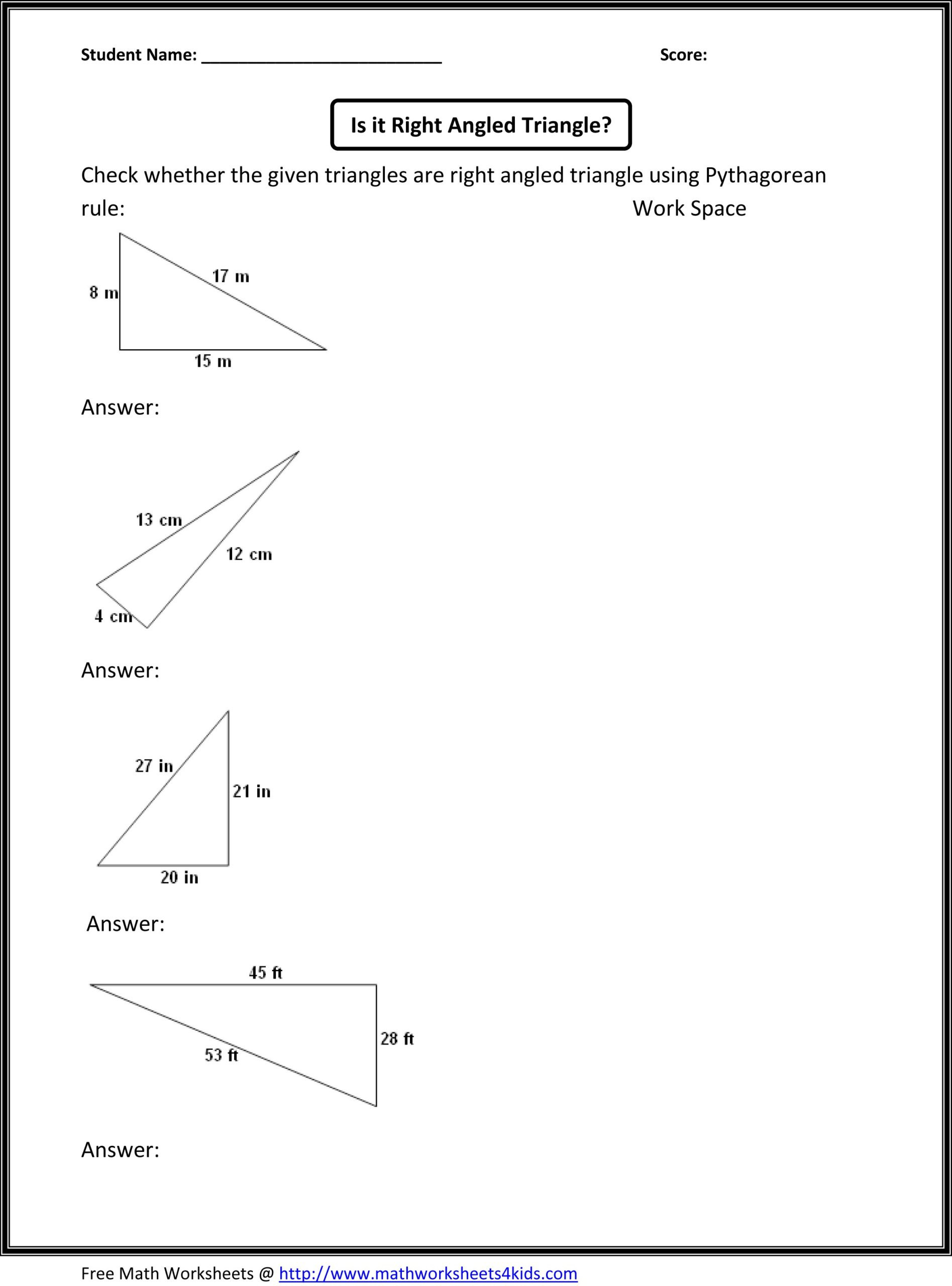 Geometry Worksheets 10th Grade Math Worksheet 8th Grade Math Worksheets Geometry or