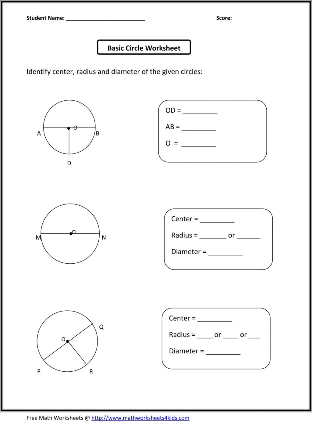 Geometry Worksheets 10th Grade Worksheet Third Grade Geometry 3rd Worksheets Printable