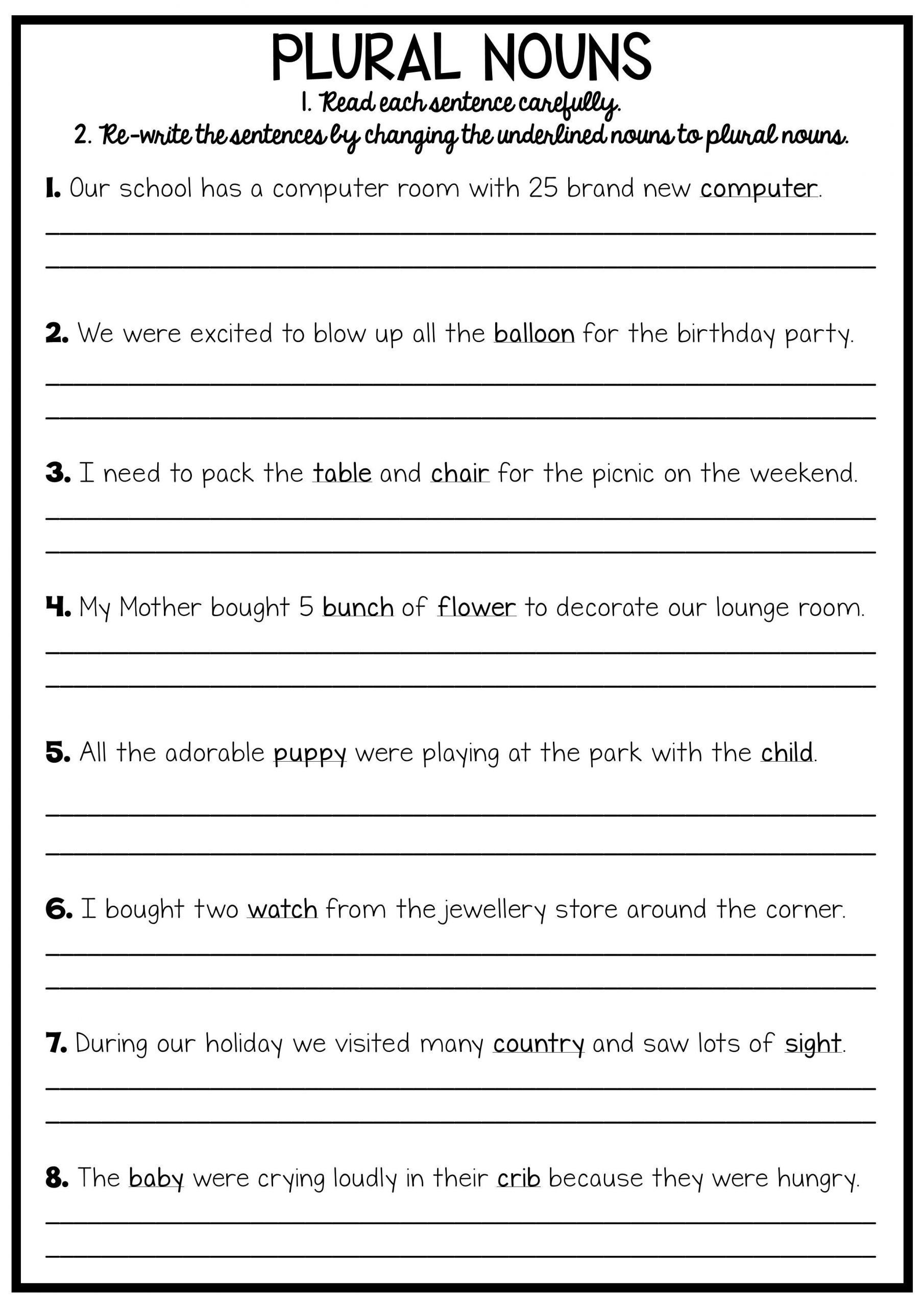 Grammar Worksheet 6th Grade 2 Pronoun Worksheets for 6th Graders Printable Reading and