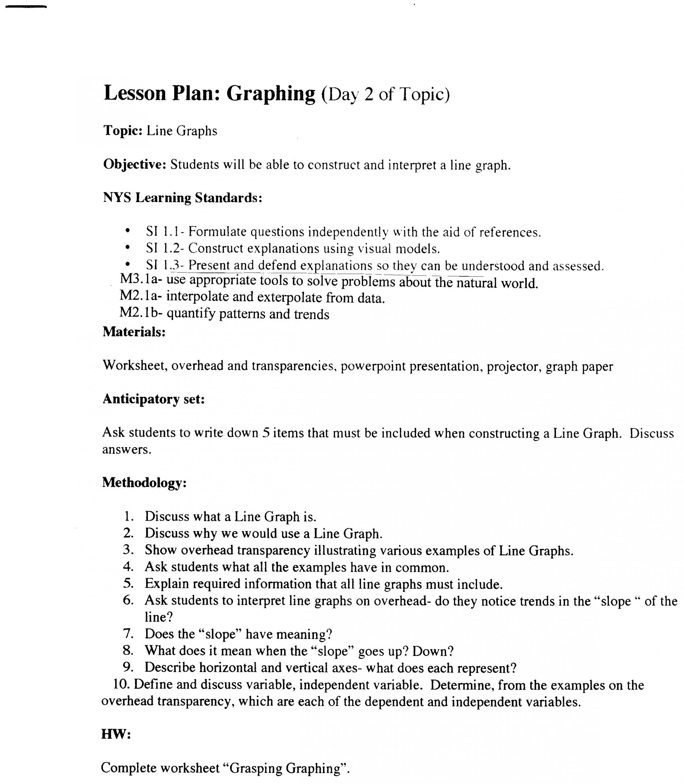 Graphing Worksheets High School Science Graph Worksheet Graphing and Intro to Science