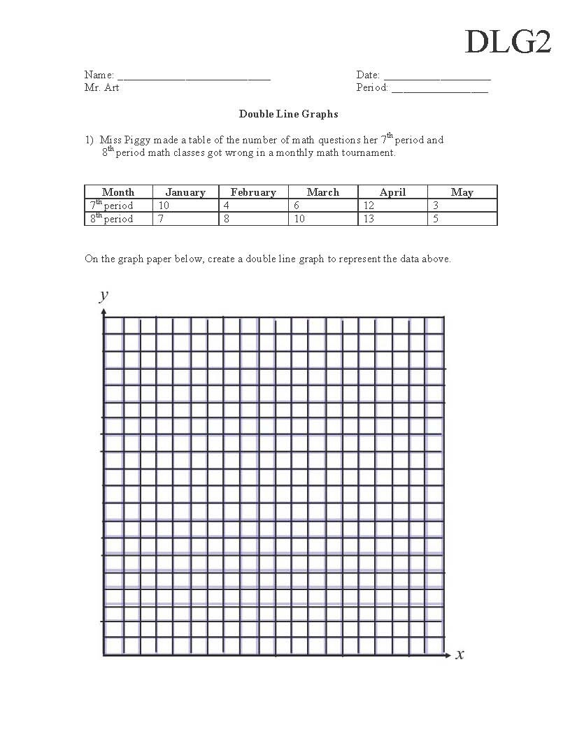 Graphing Worksheets High School Science Semi Truck School Graphing Worksheets Middle Science Data