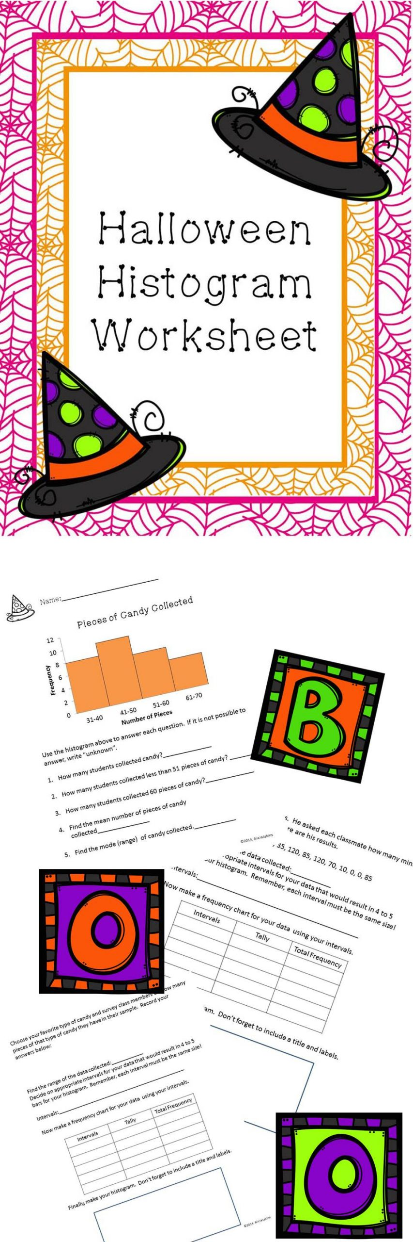 Histogram 6th Grade Worksheet 11 Best Histograms Images