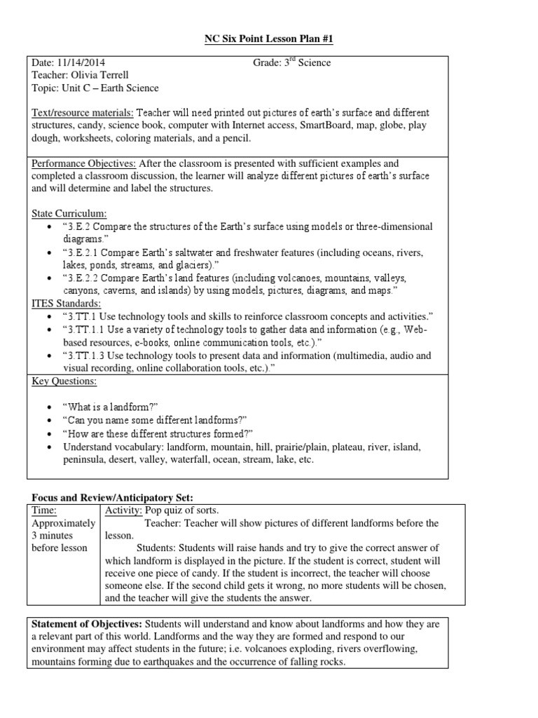 Landforms 3rd Grade Worksheets Lesson Plans Special Education solar Eclipse