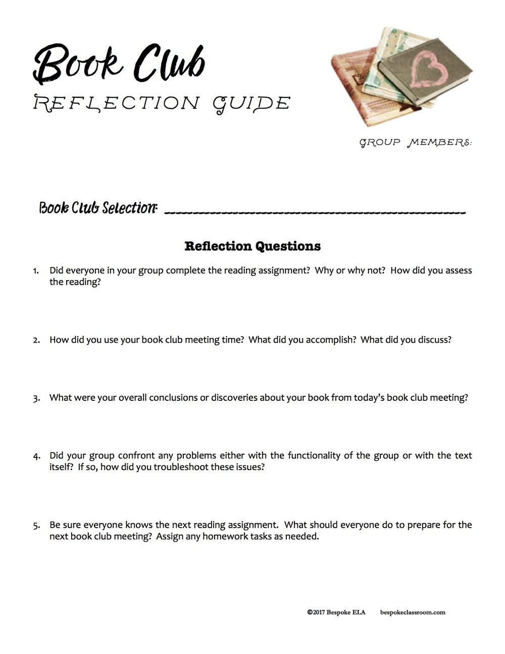 Literary Elements Worksheets High School Setting Up and assessing Book Club In Middle School and High