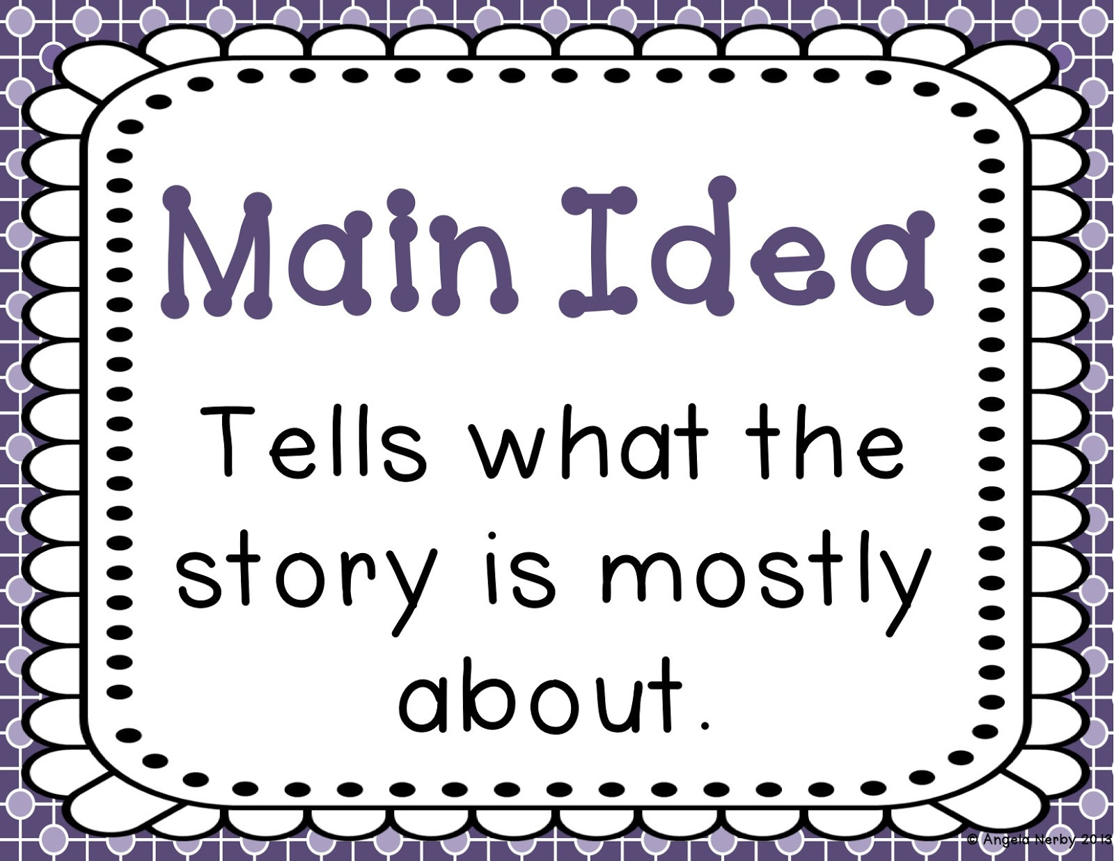 Main Idea First Grade Worksheets Main Idea Lessons Tes Teach