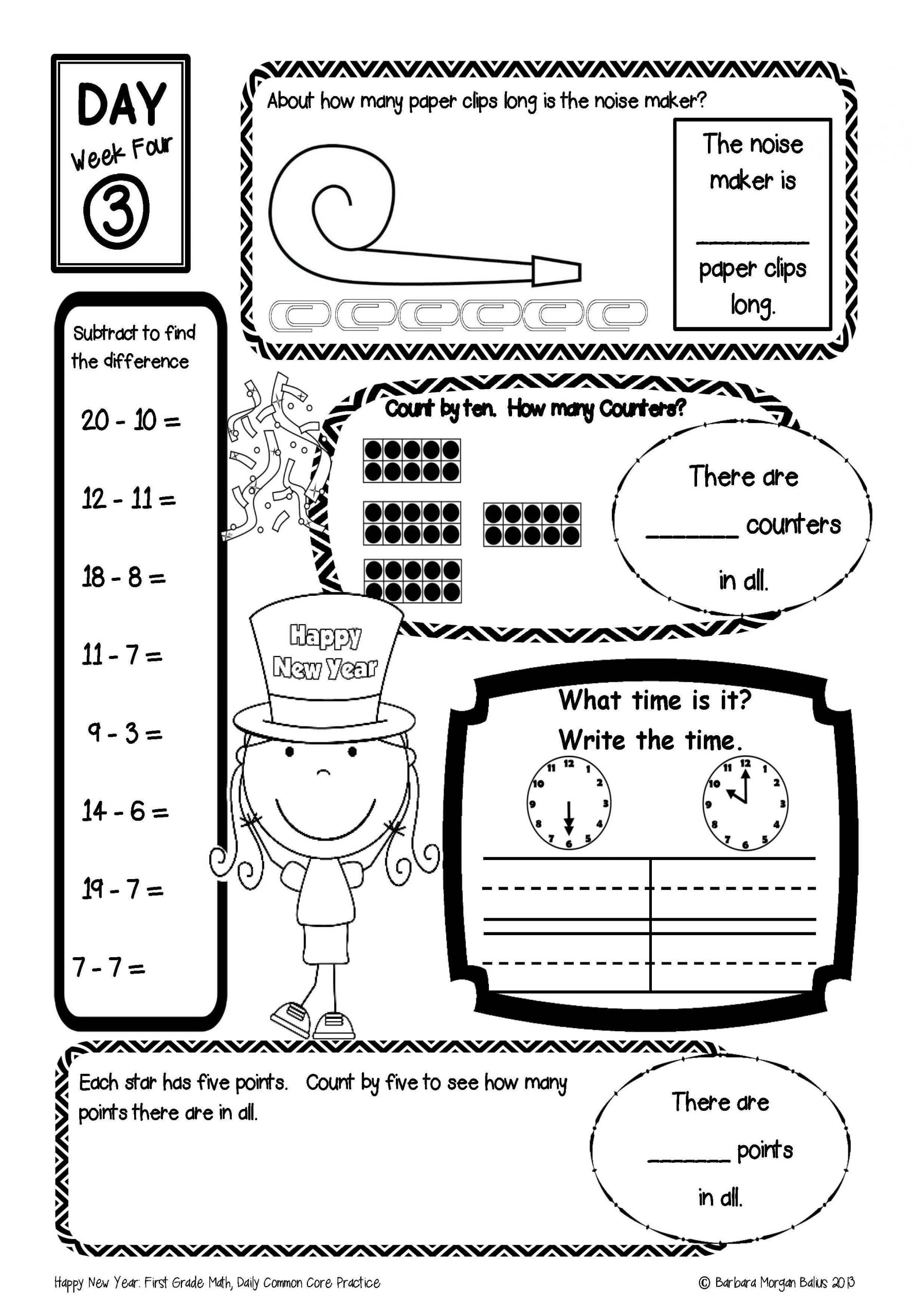 Main Idea First Grade Worksheets Main Idea Worksheets Grade 1