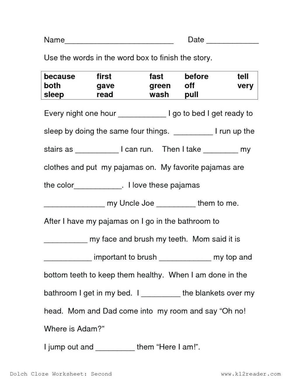 Main Idea Worksheet 1st Grade Worksheet 1st Grade Reading Passages Worksheets