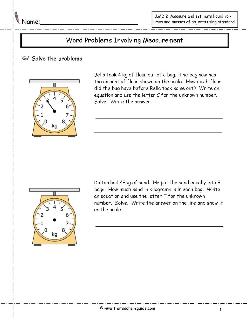 Measurement Worksheets Grade 3 Math Worksheet Free Printable Measurement Worksheetsrade