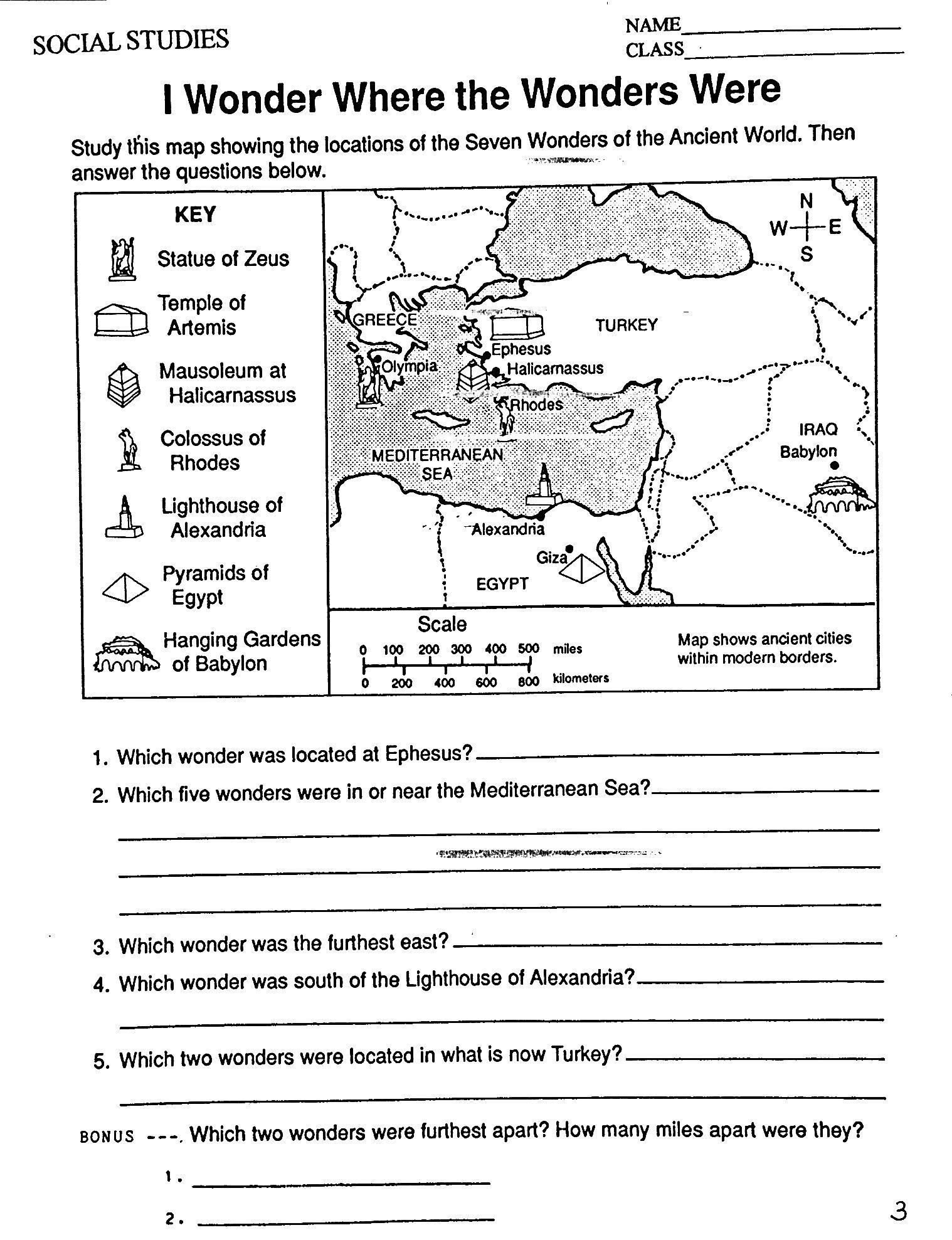Mesopotamia Worksheets 6th Grade Ch3 I Wonder where 1 518—1 977 Pixels