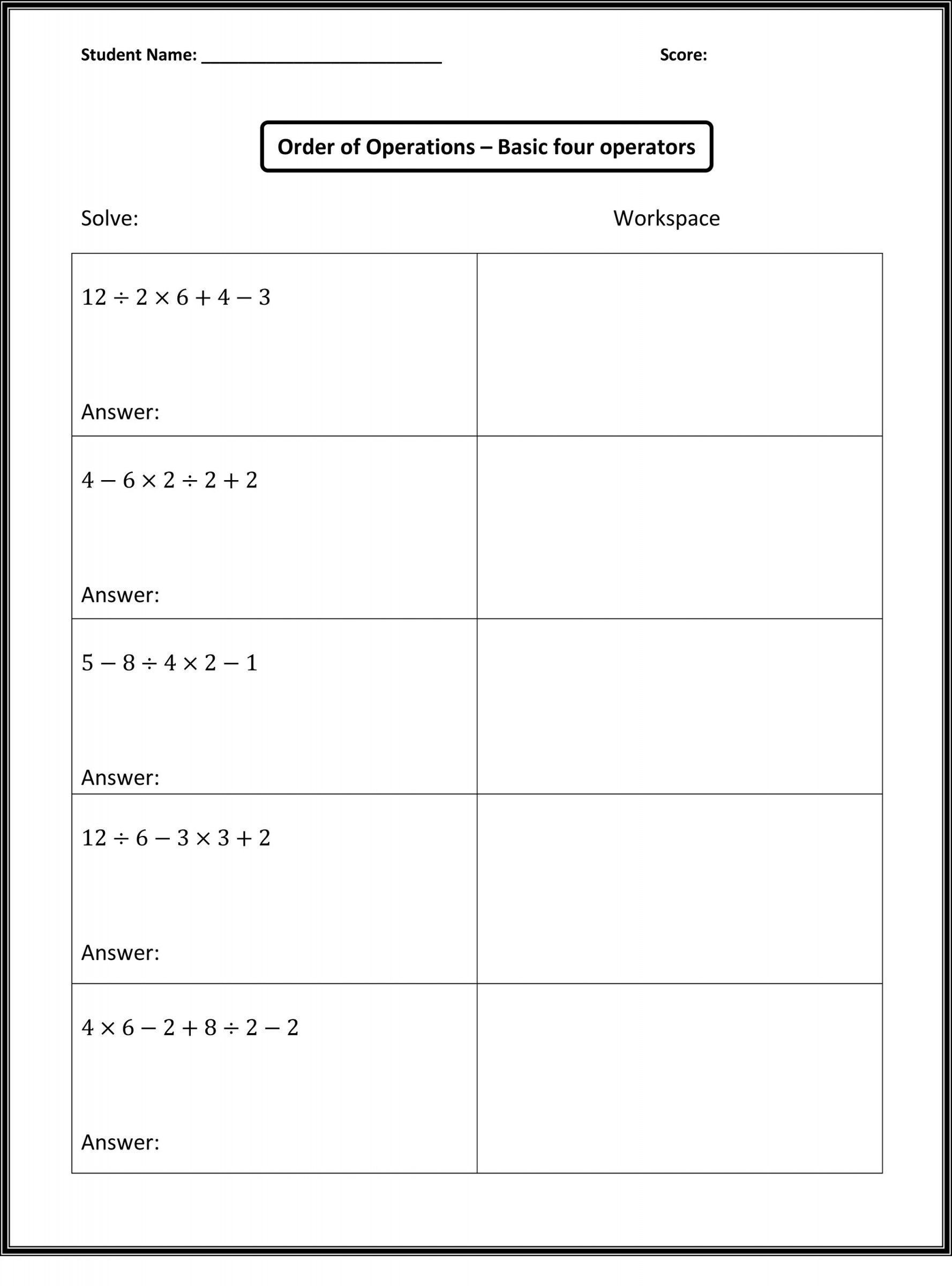 Middle Ages Worksheets 6th Grade Free Math Worksheets for 6th Grade