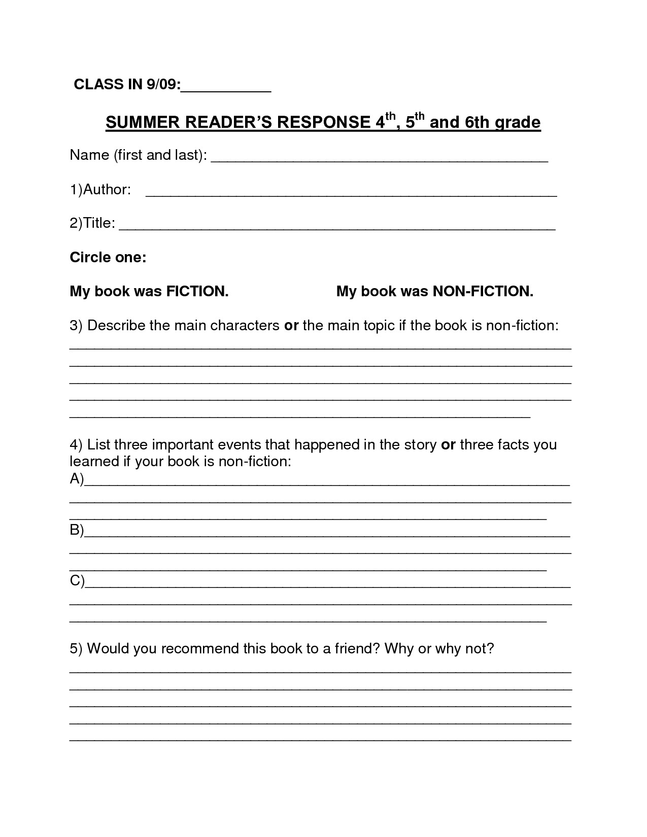 Paraphrasing Worksheets 4th Grade Worksheet Summarizing
