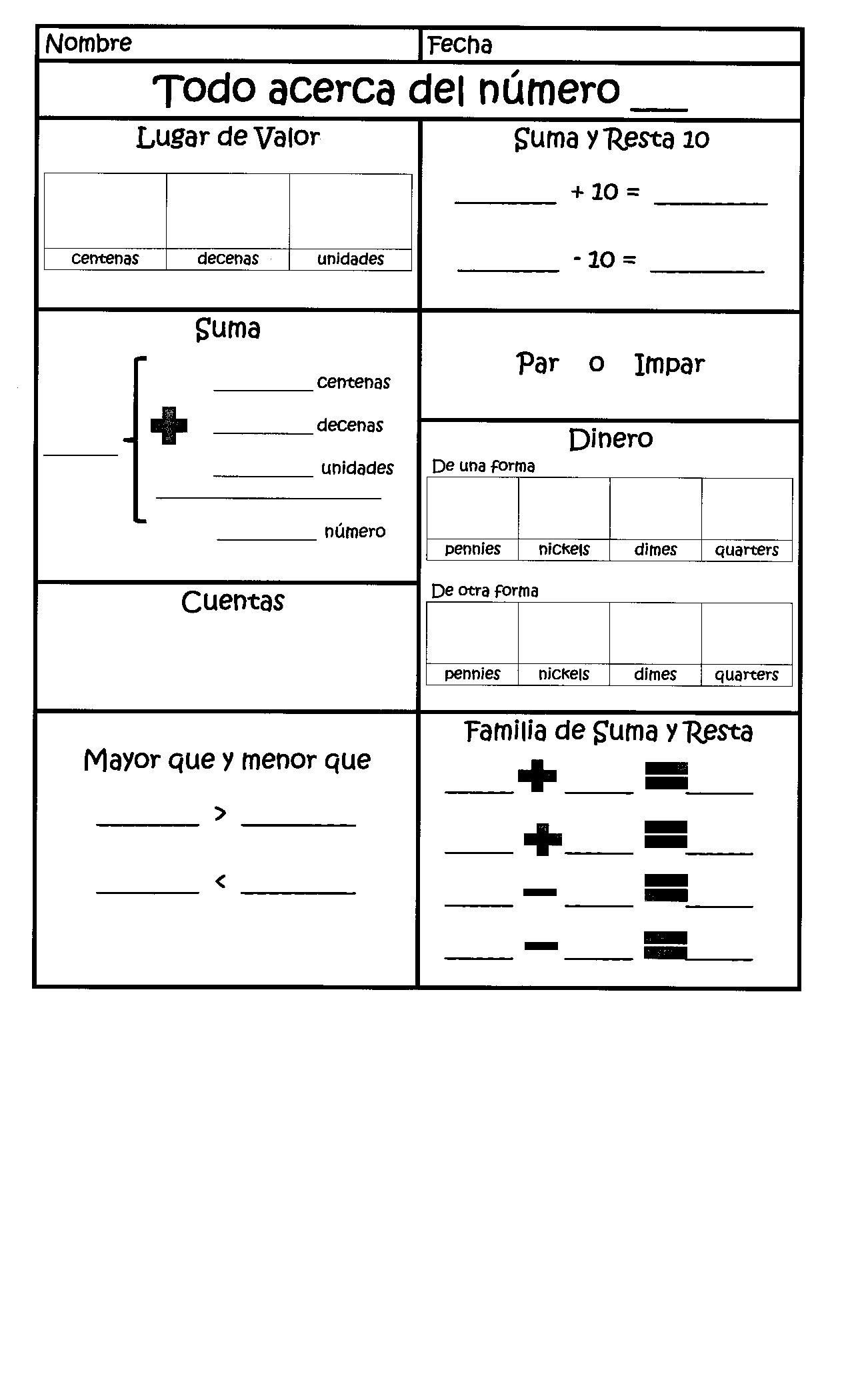 Quadrilaterals 3rd Grade Worksheets Daily Calendar Math In Spanish for 1st Grade Dual Language