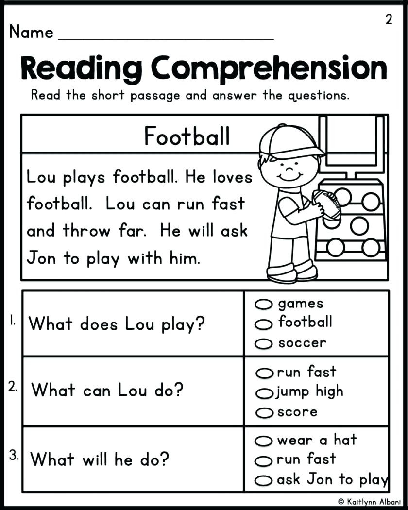 Reading Comprehension Worksheets Kindergarten Worksheet Biomes Reading Prehensionksheets