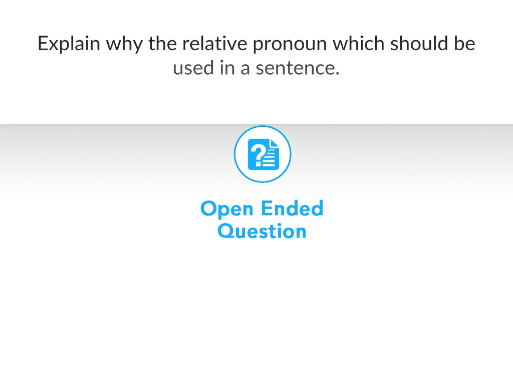 Relative Pronoun Worksheet 4th Grade Nearpod