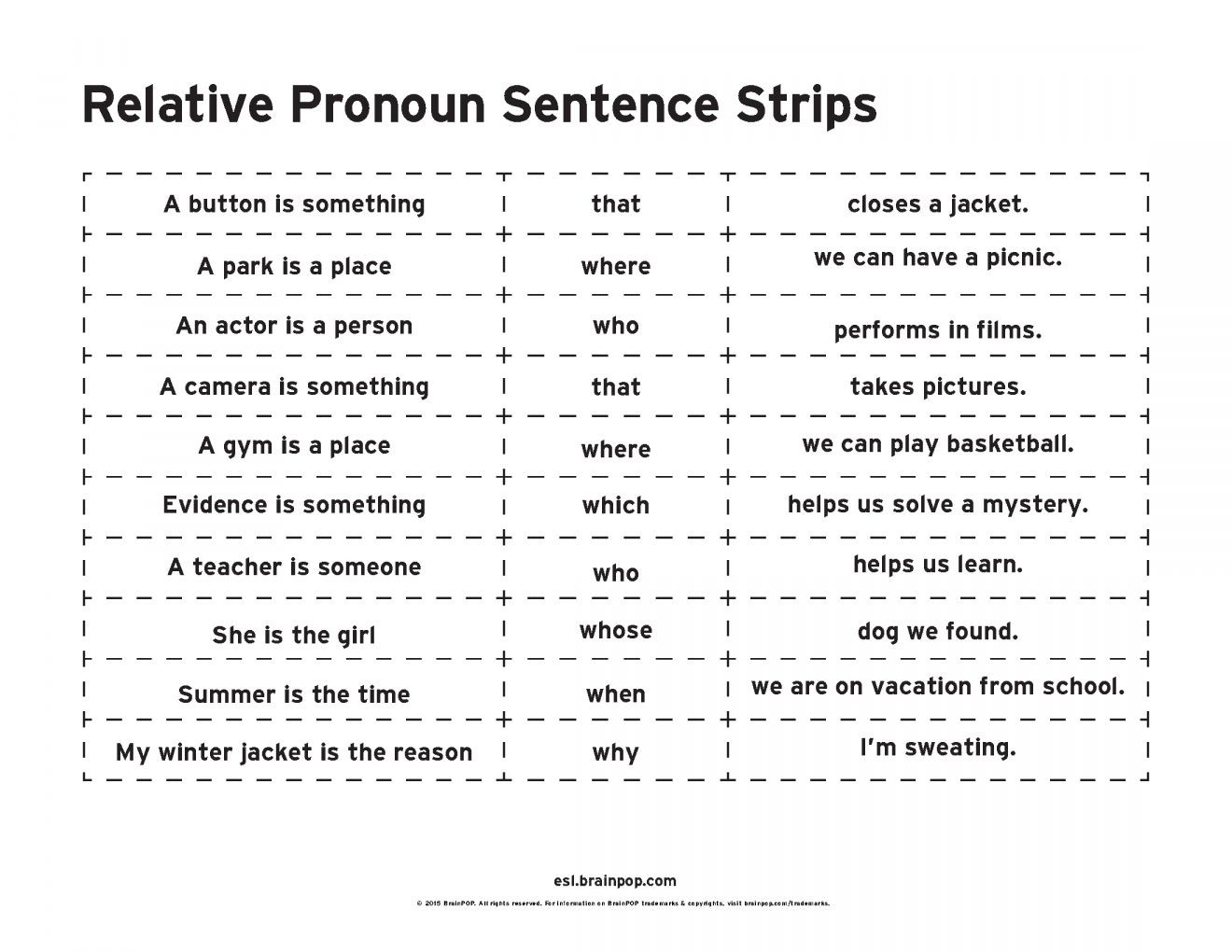 Relative Pronouns Worksheets 4th Grade Pin On 4th Grade Worksheet