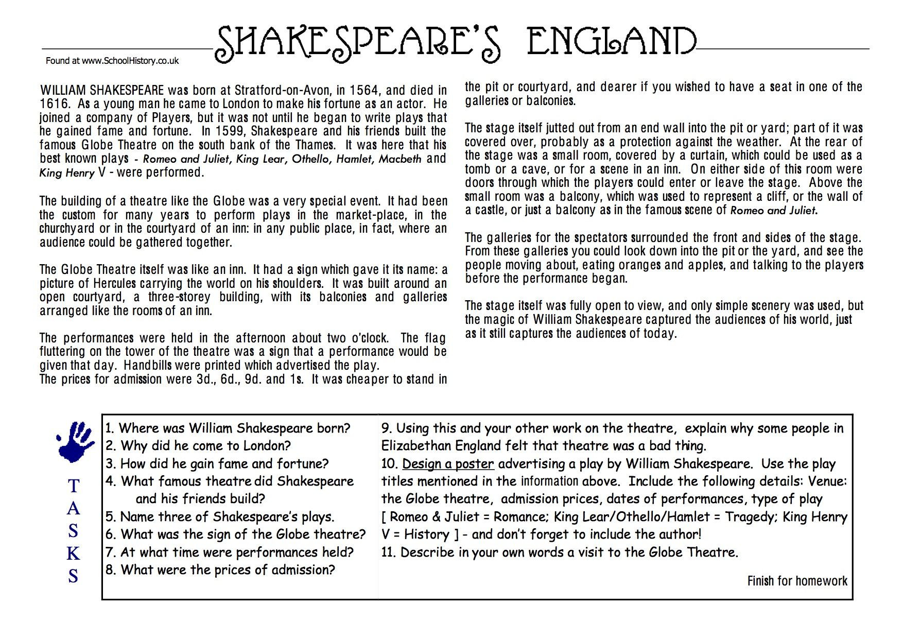 Renaissance Worksheets for Middle School the Renaissance Worksheets