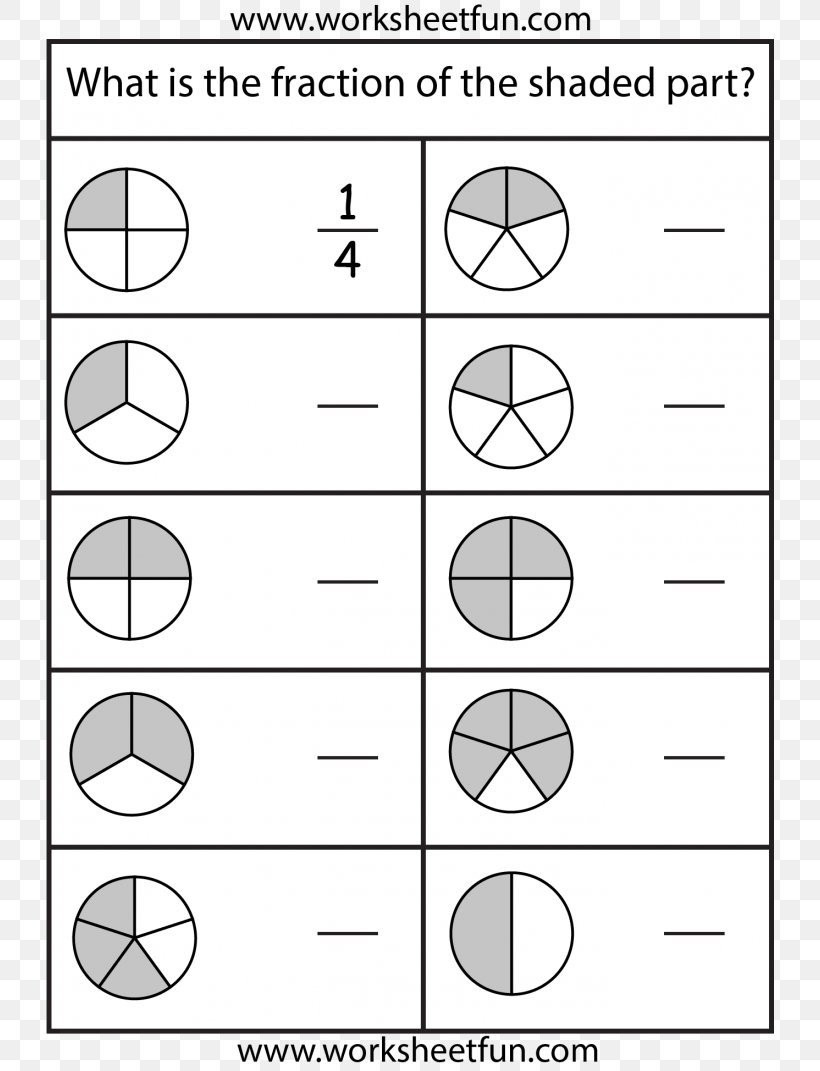Second Grade Fraction Worksheets 2nd Grade Fraction Worksheets