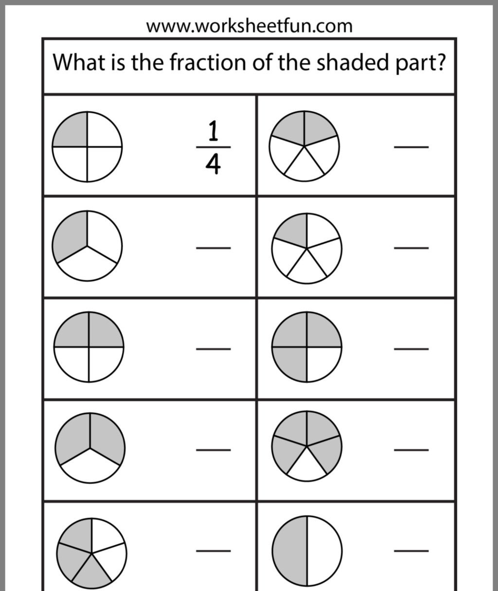 Second Grade Fraction Worksheets Worksheet Worksheet 2nd Grade Fractions Worksheets Second