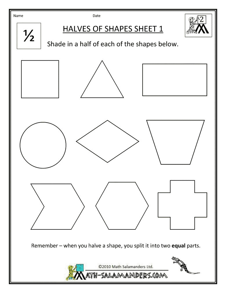 Shapes Worksheets for Grade 2 3 Free Math Worksheets Second Grade 2 Geometry Congruent