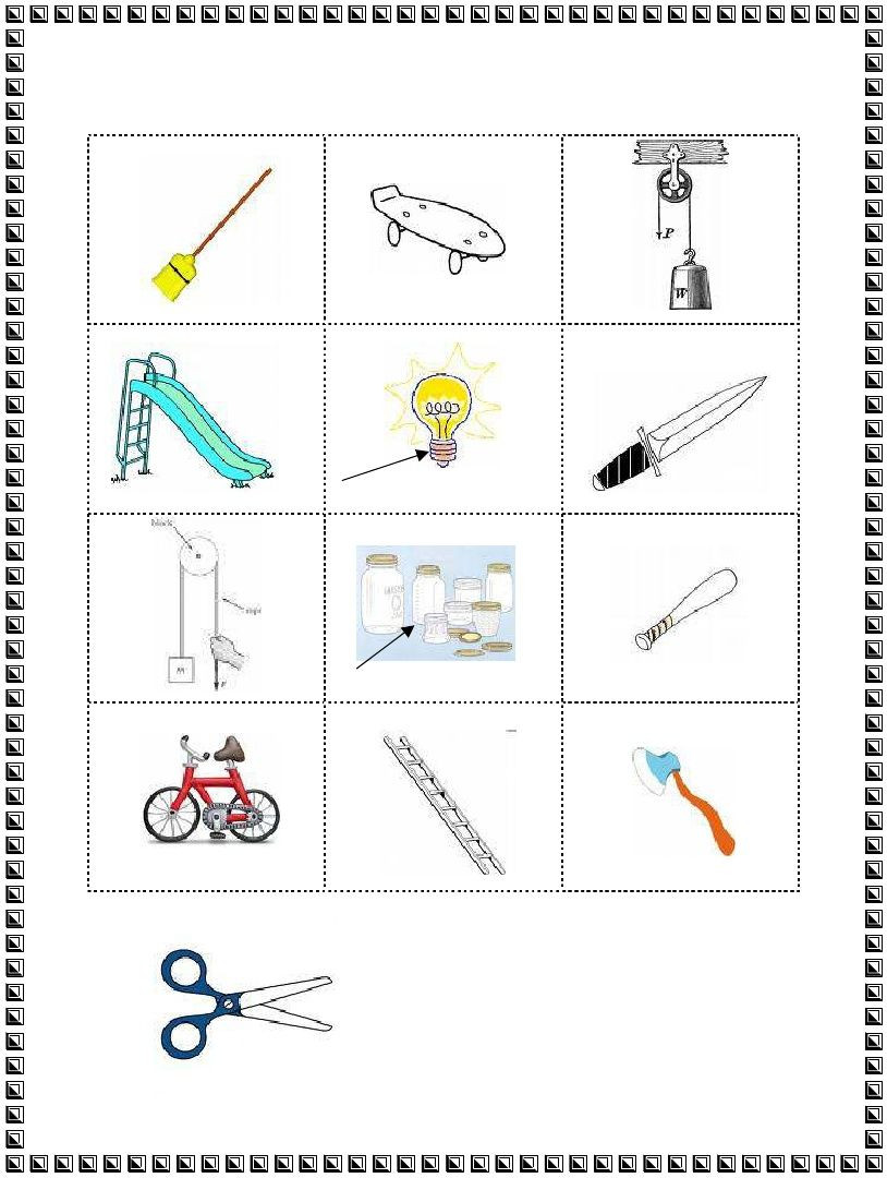 Simple Machine Worksheets Middle School 3rd Grade Simple Machines Worksheet