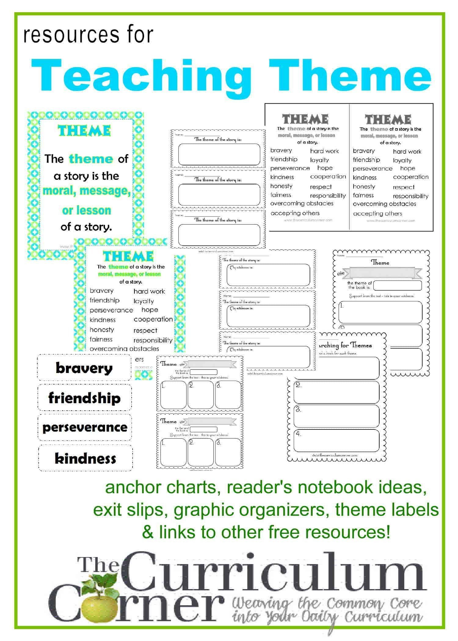 Theme Worksheet 4th Grade 32 theme Worksheet 4th Grade In 2020