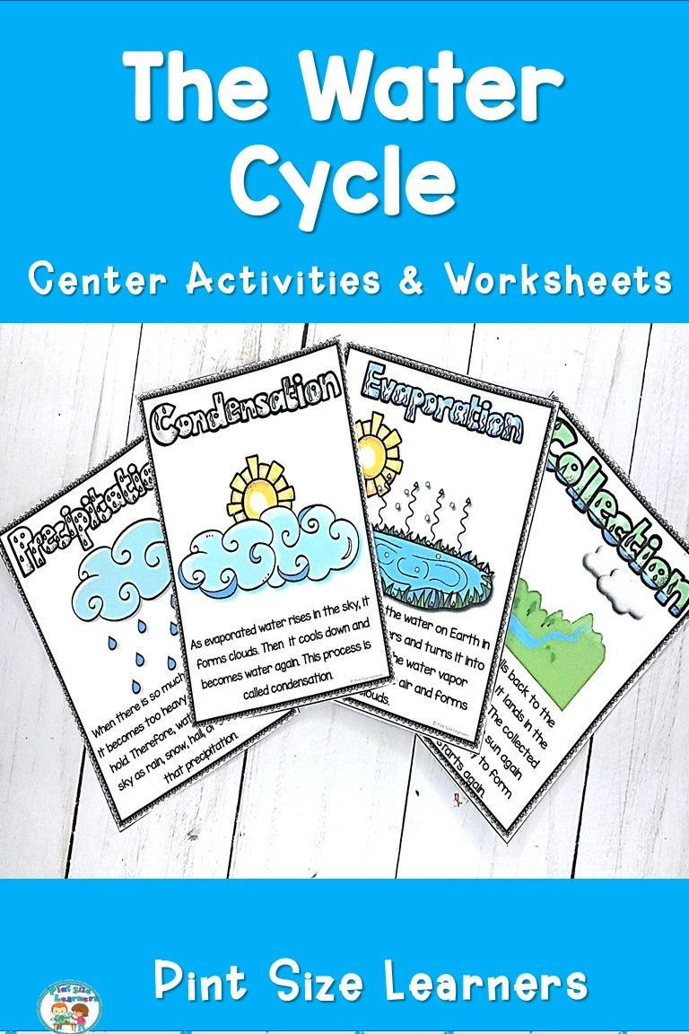 Water Cycle Worksheet 2nd Grade Water Cycle Activities & Worksheets
