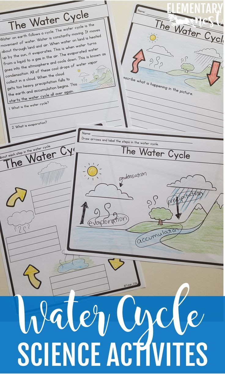 Water Cycle Worksheet 2nd Grade Water Cycle Worksheets with Google Classroom Distance